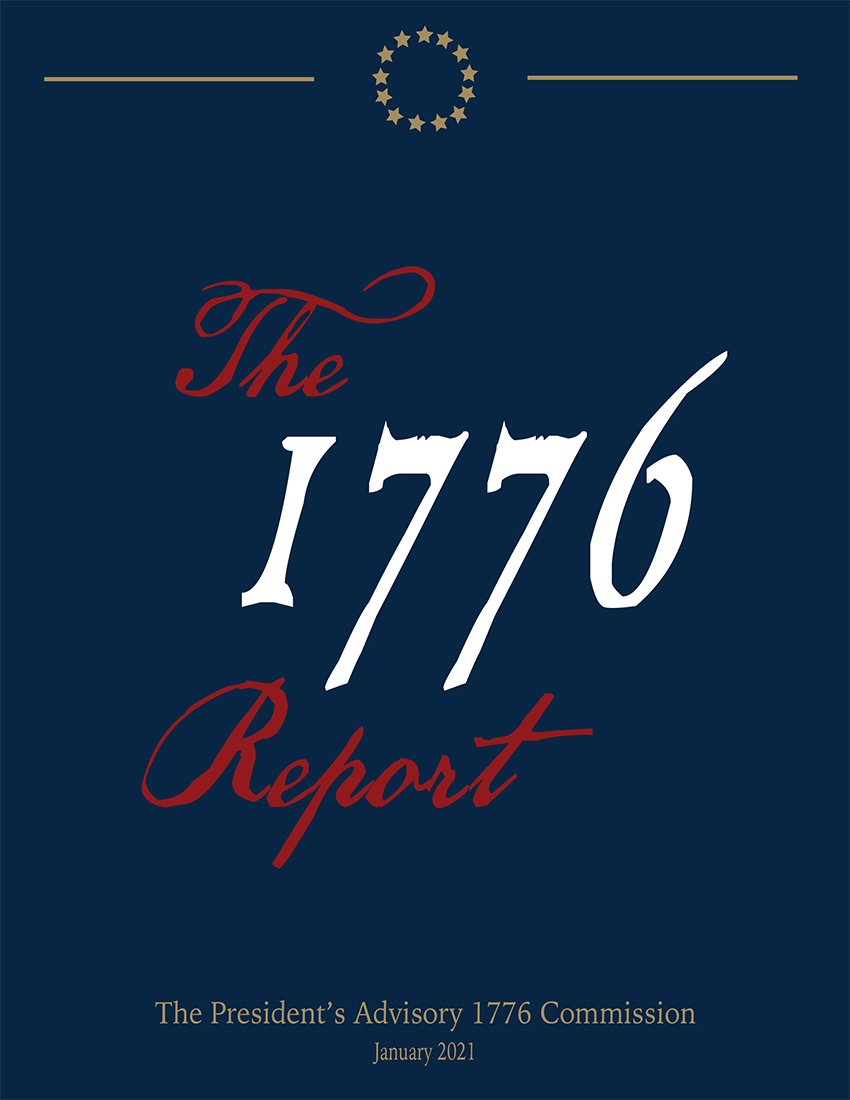 The President's Advisory 1776 Commission cover